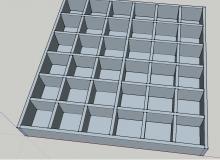 Дизайн на етажерка за клиент